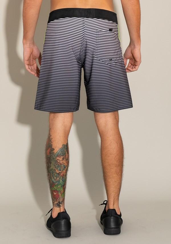 Bermuda for men bolso lateral estampa mini listrado