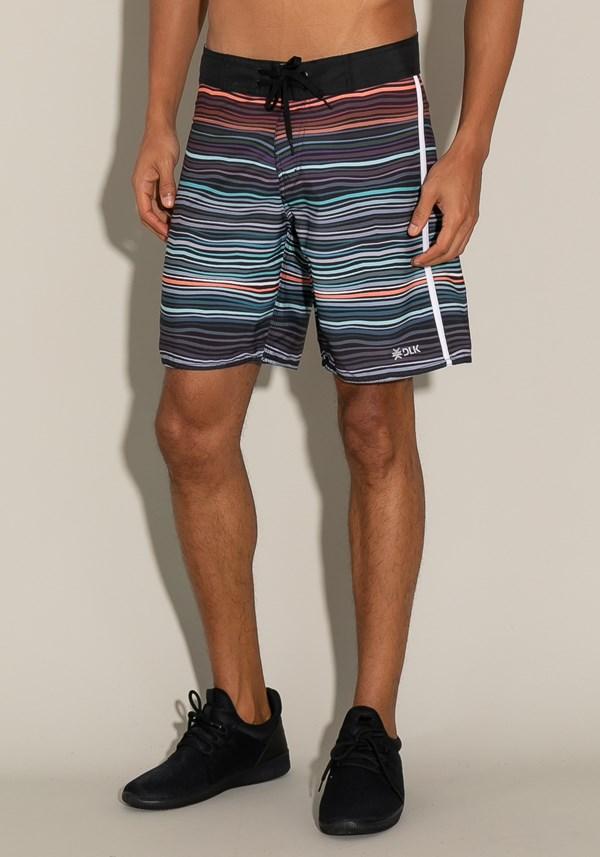 Bermuda for men bolso lateral listras coloridas