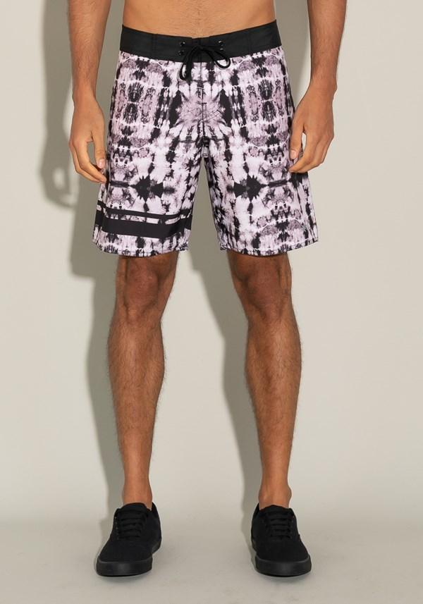 Bermuda for men bolso lateral tie dye preto