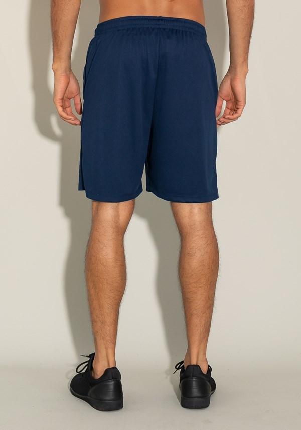 Bermuda for men com cadarço azul marinho