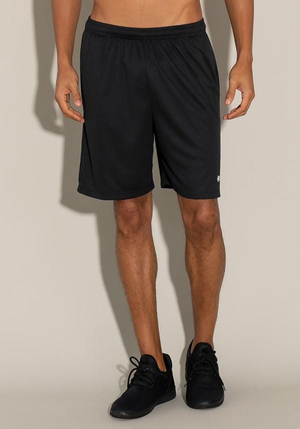 Bermuda for men com cadarço preto