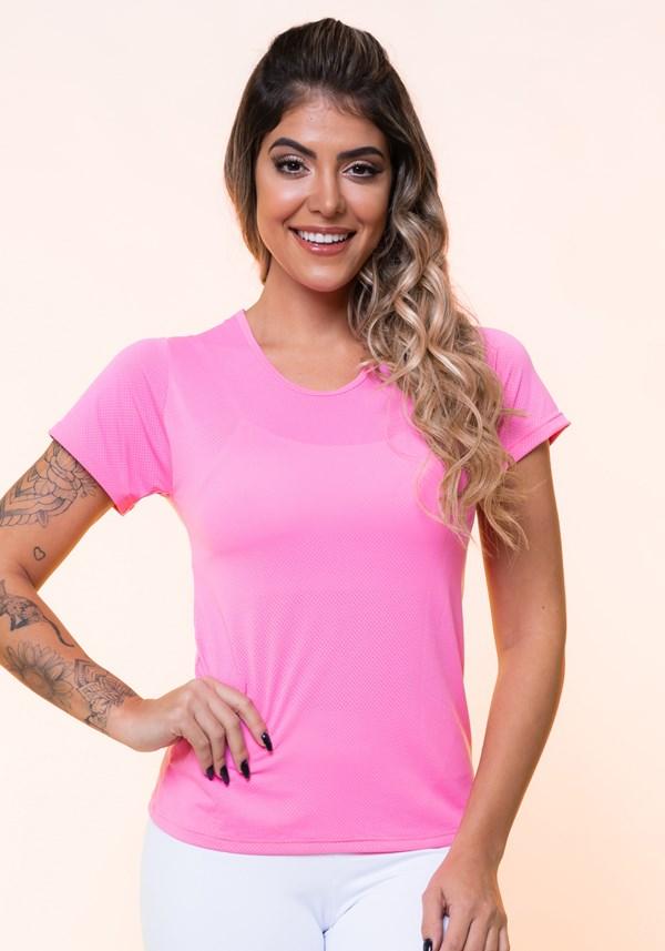 Blusa dryfit rosa básica