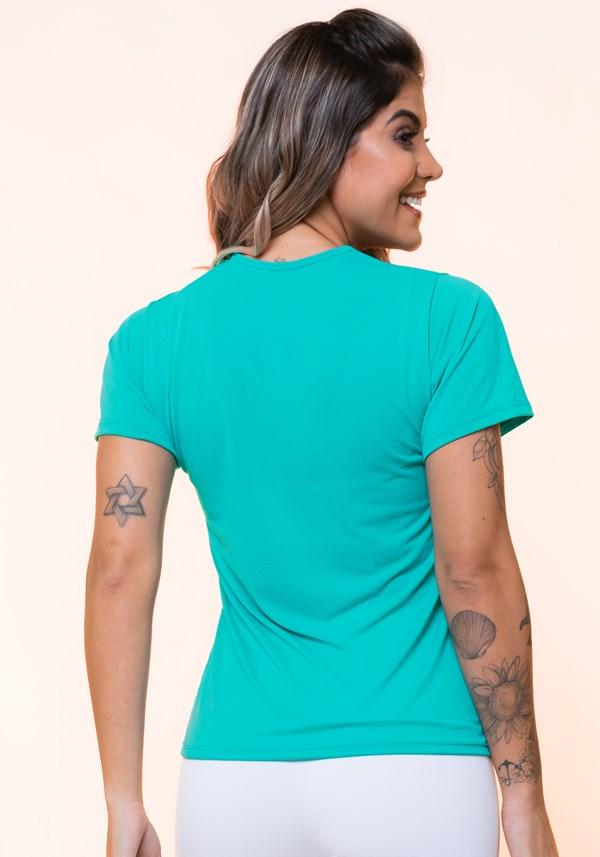 Blusa dryfit verde básica
