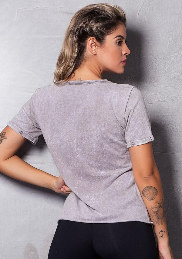 Blusa estonada grey girls gang