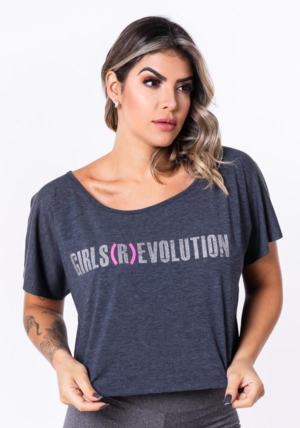 Blusa mescla escuro evolution