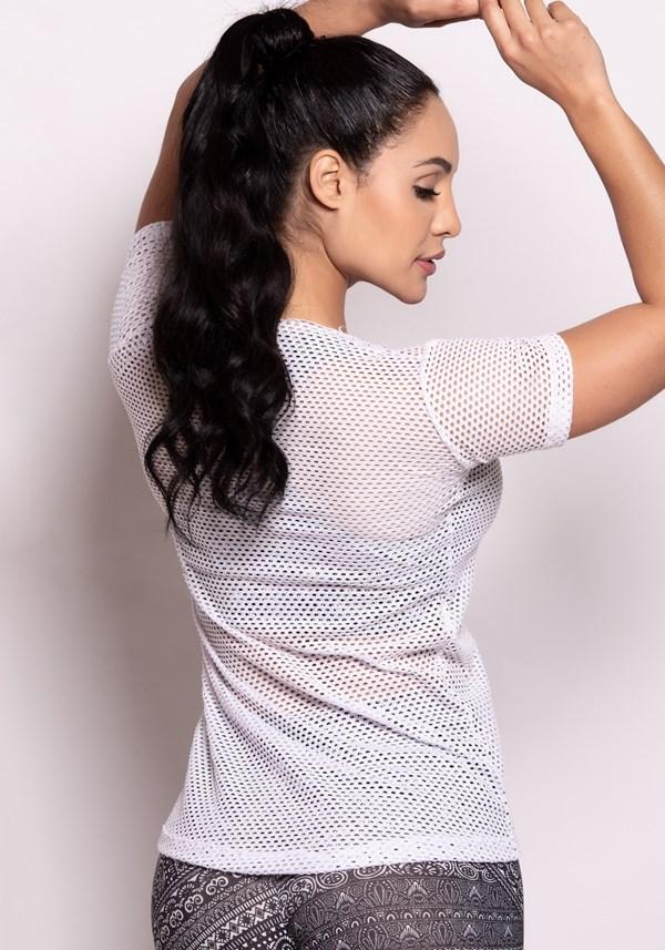 Blusa tela branca