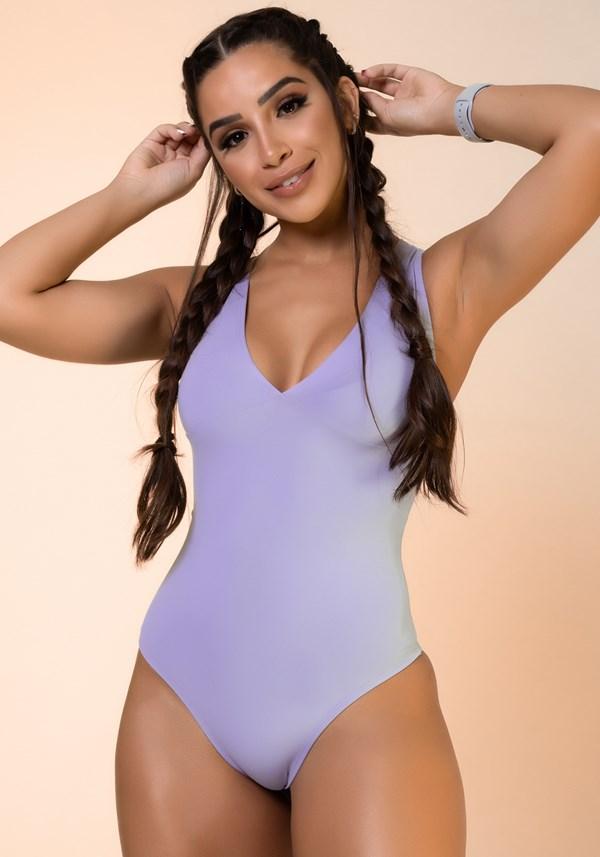 Body lilás nadador básico