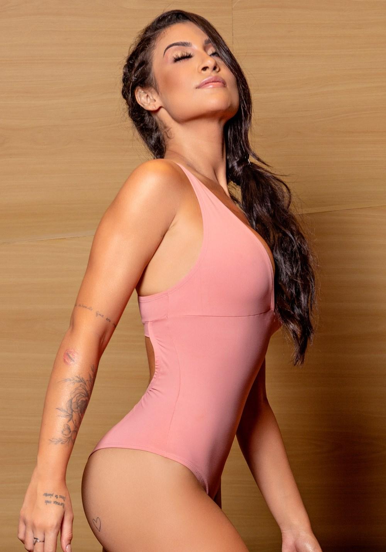 Body rosê nadador básico