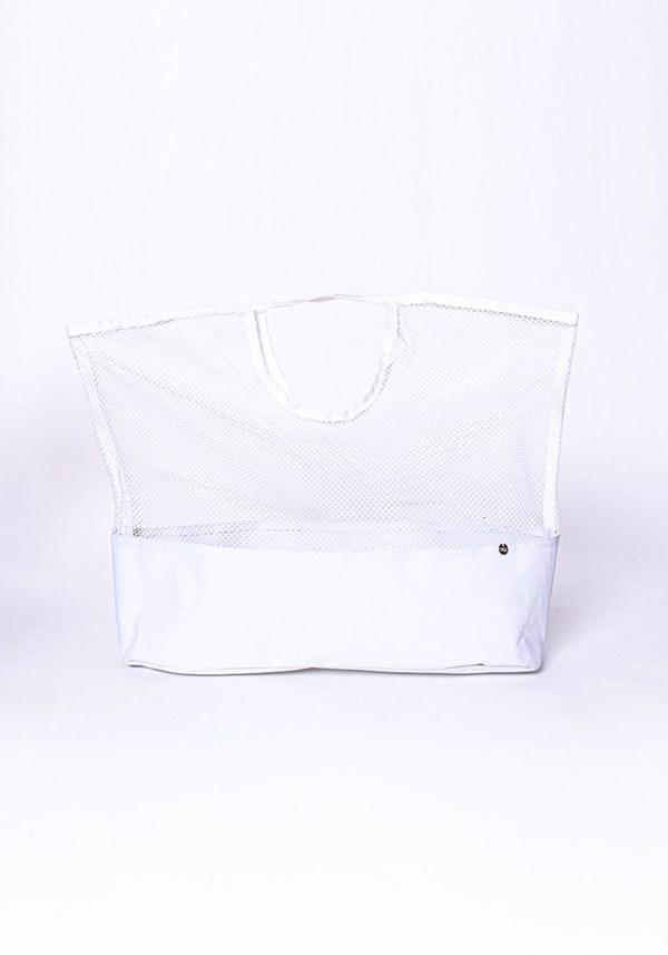 Bolsa sacola de mão dlk beach branco