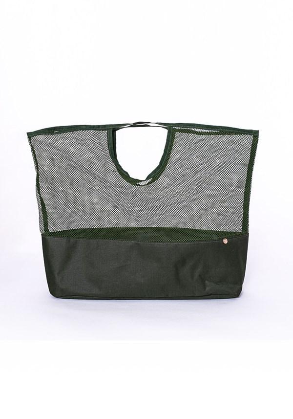Produto Bolsa sacola de mão dlk beach verde militar