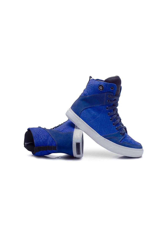 Bota fitness azul slim