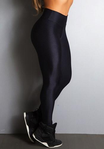 Calça cirrê preta energy