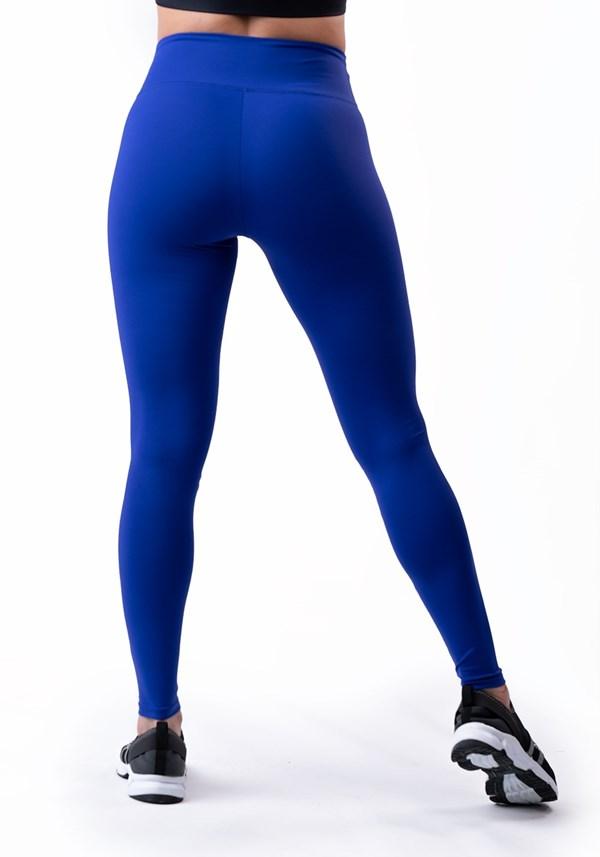 Calça legging azul royal básica