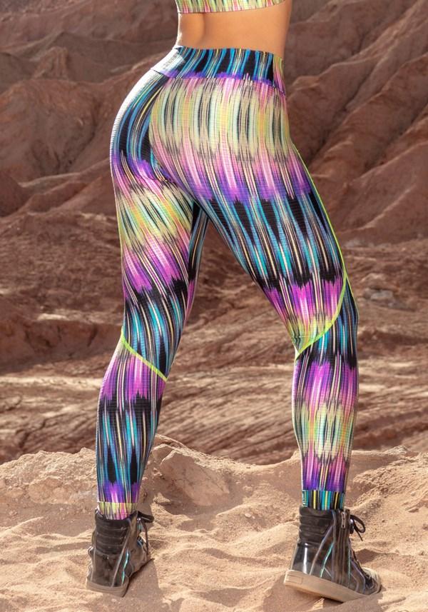 Calça legging boreal colors