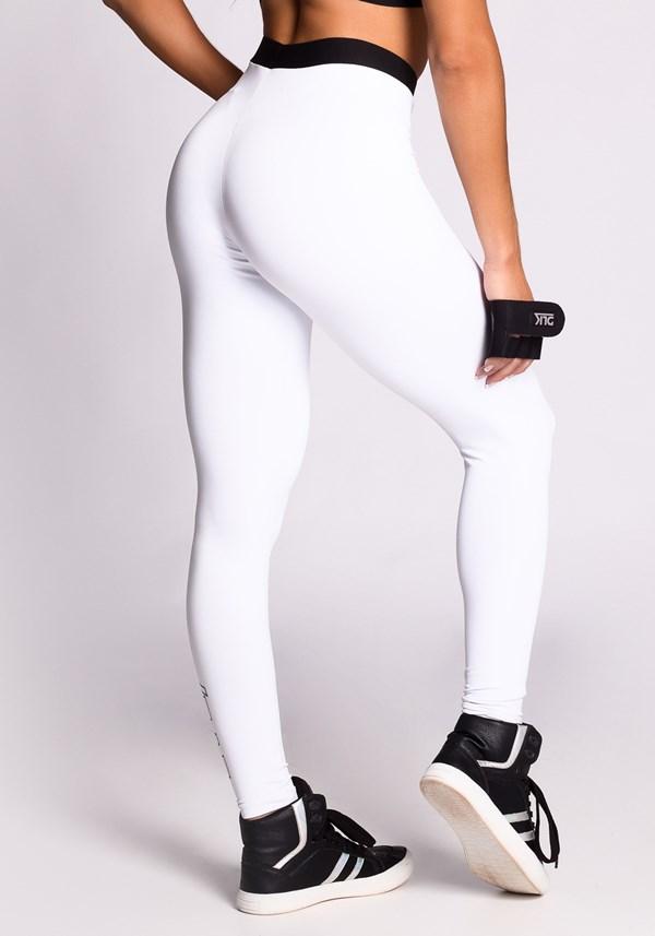 Calça legging branca code