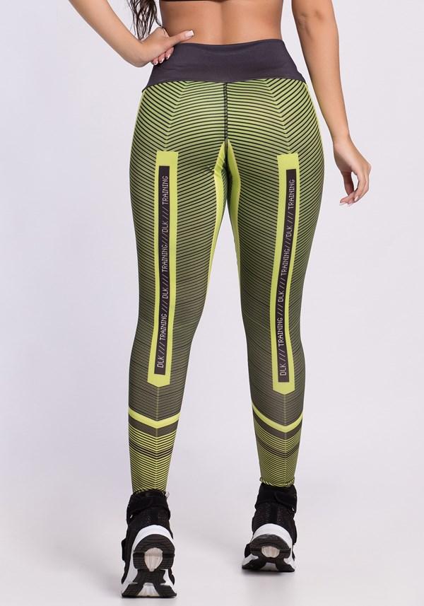 Calça legging dlk green lines