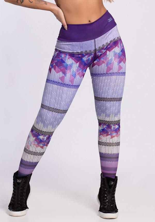 Calça legging dlk light purple