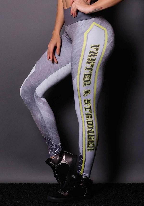 Calça legging faster & stronger