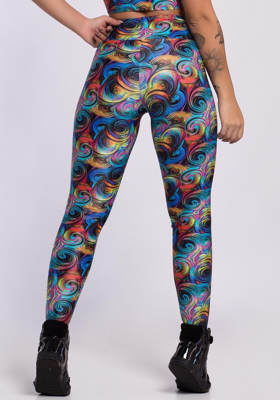 65ce43cf7dd47 Calça legging glow spiral colors - DlkModas