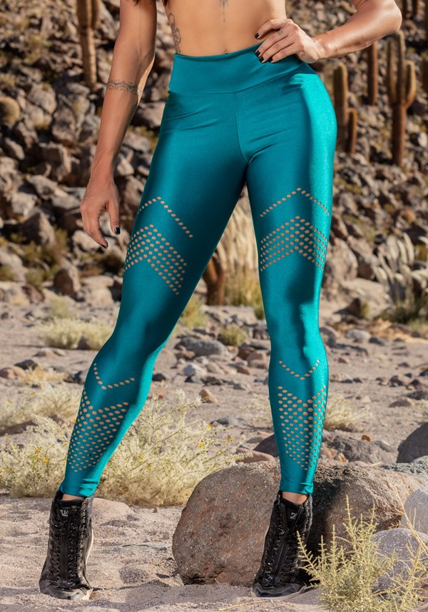 Calça legging green double arrow