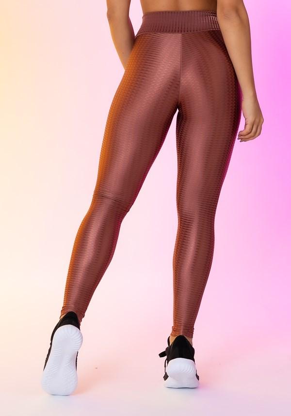 Calça legging happiness básica bronze