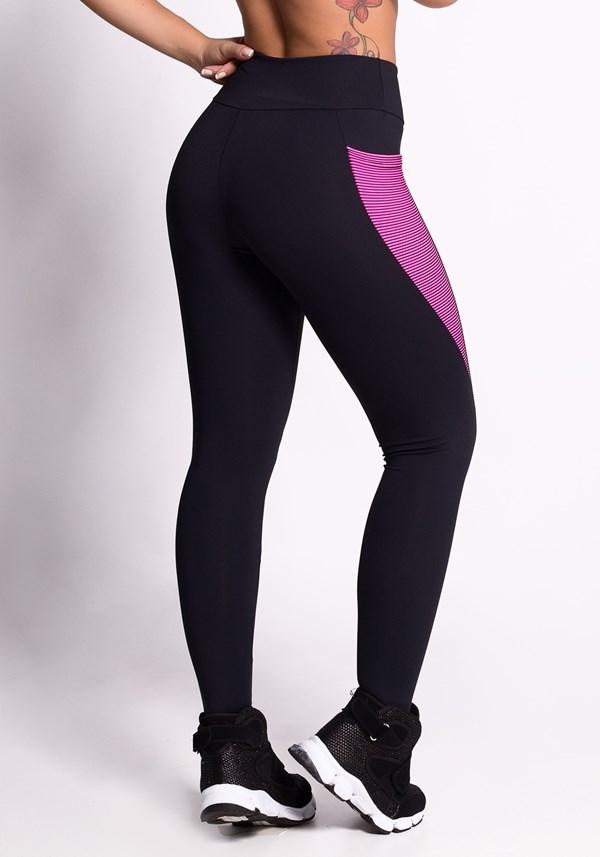 Calça legging illusion pink