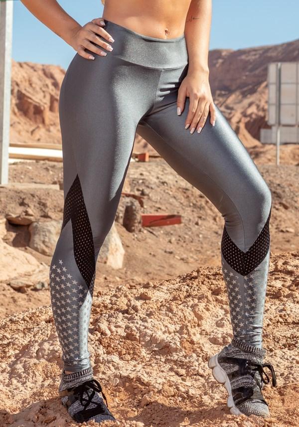 Calça legging max silver star