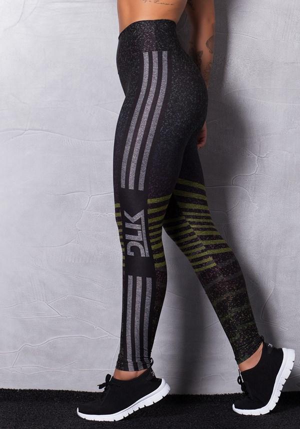 Calça legging mescla printed colors