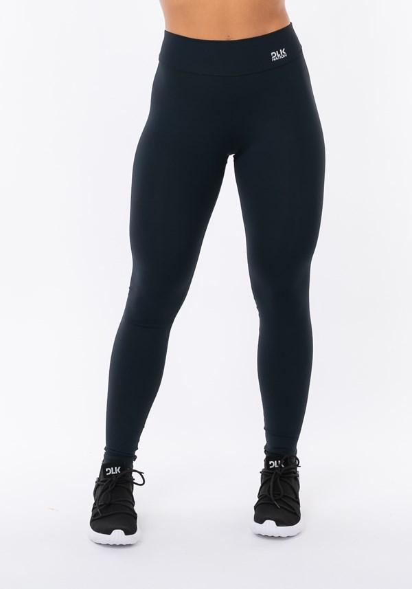Calça legging nation com recorte levanta bumbum preto