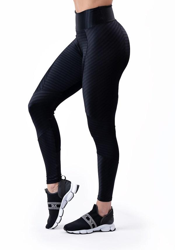 Produto Calça legging poliamida brilho preta