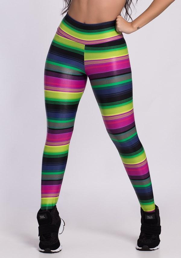 Calça legging poliamida intense color