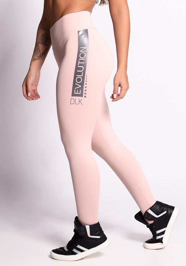 Calça legging poliamida nude evolution