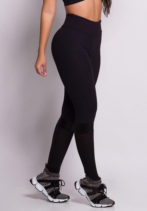 Calça legging preta not basic