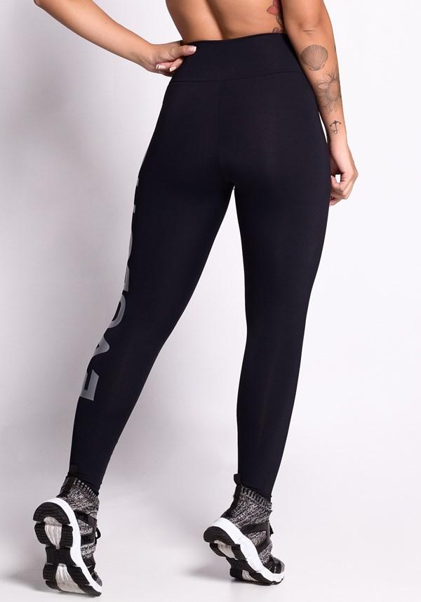 Calça legging preta start evolution