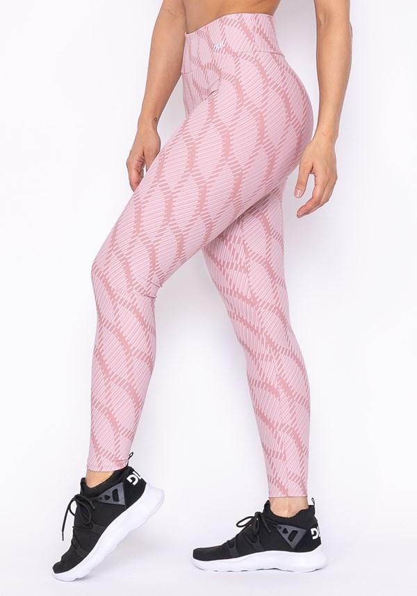 Calça legging technology rosa claro