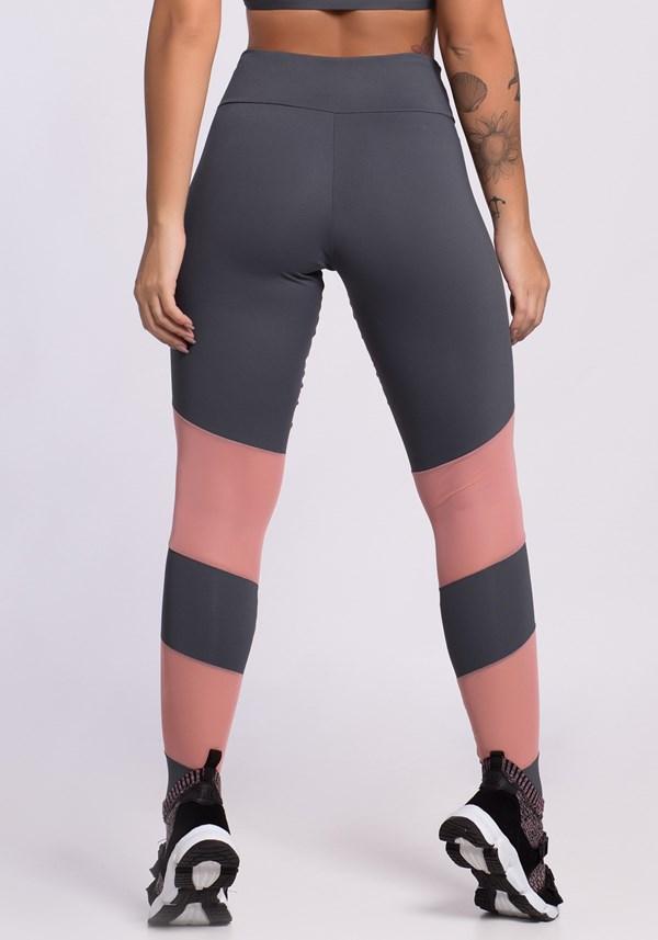 Calça legging urban rosê