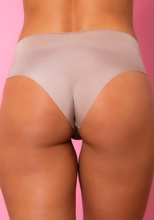 Calcinha hot pant intimate sem costura chocolate