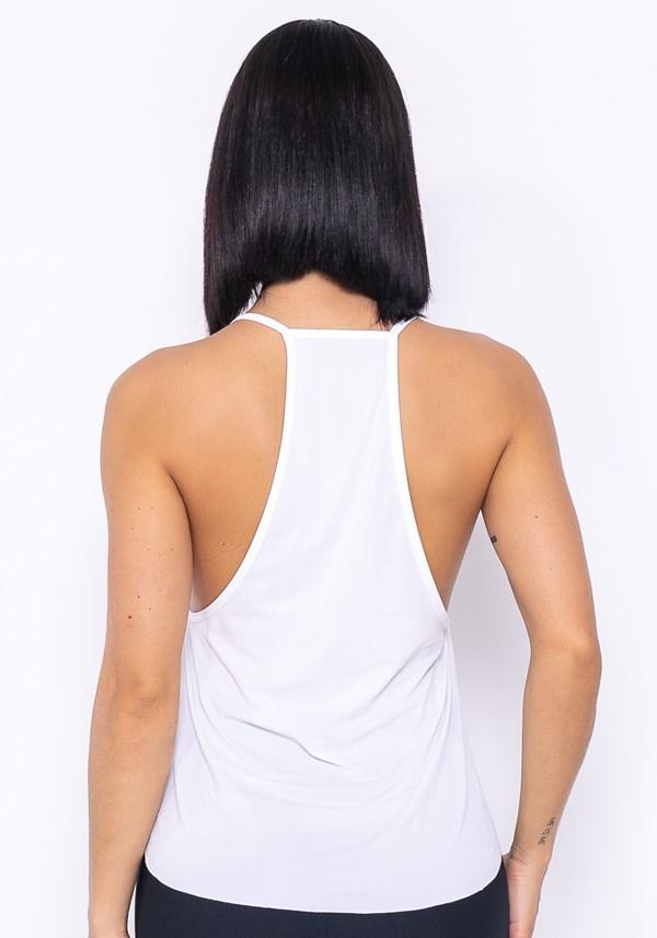 Camiseta modelo cavado technology branco