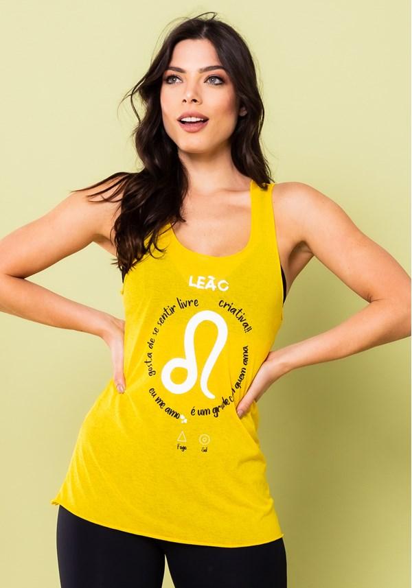 Camiseta nadador energy amarela leão