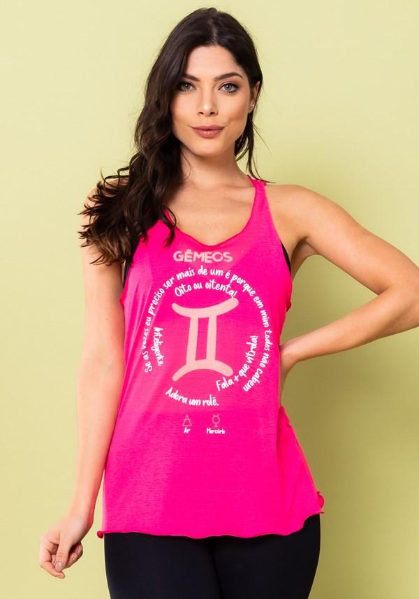 Camiseta nadador energy rosa pink gêmeos