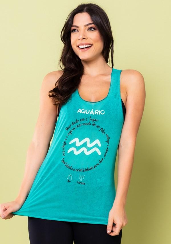 Camiseta nadador energy verde aquário