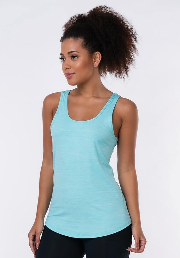 Camiseta nation elástico costas azul