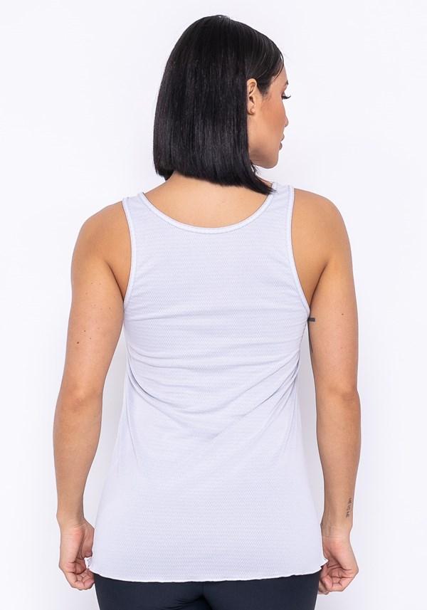 Camiseta technology dupla face branco