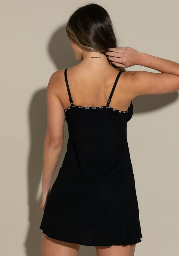 Camisola sem bojo intimate com elástico dlk preta
