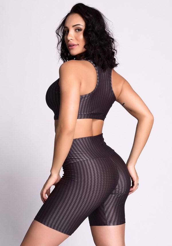 Conjunto fitness curves cinza
