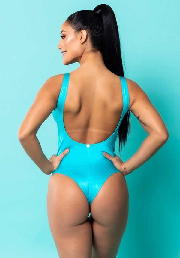 Maiô básico azul