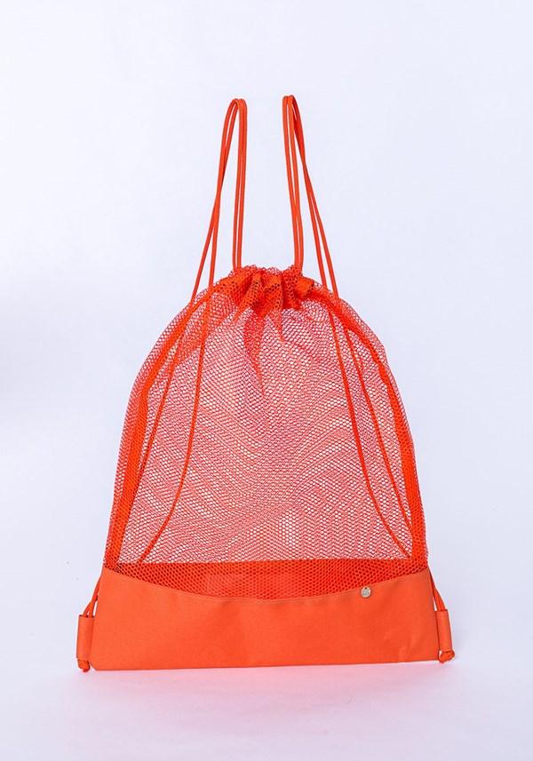Mochila dlk beach modelo sacola laranja
