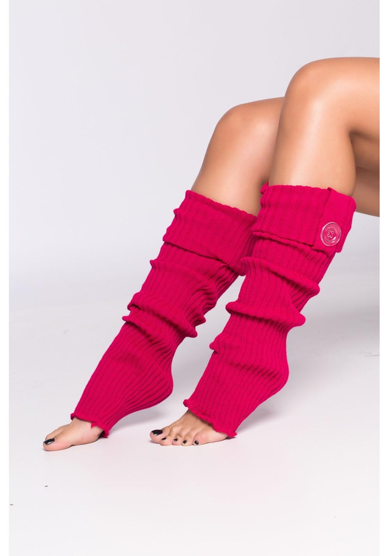 Polaina lã pink