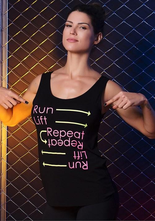 Regata com tiras nas costas running