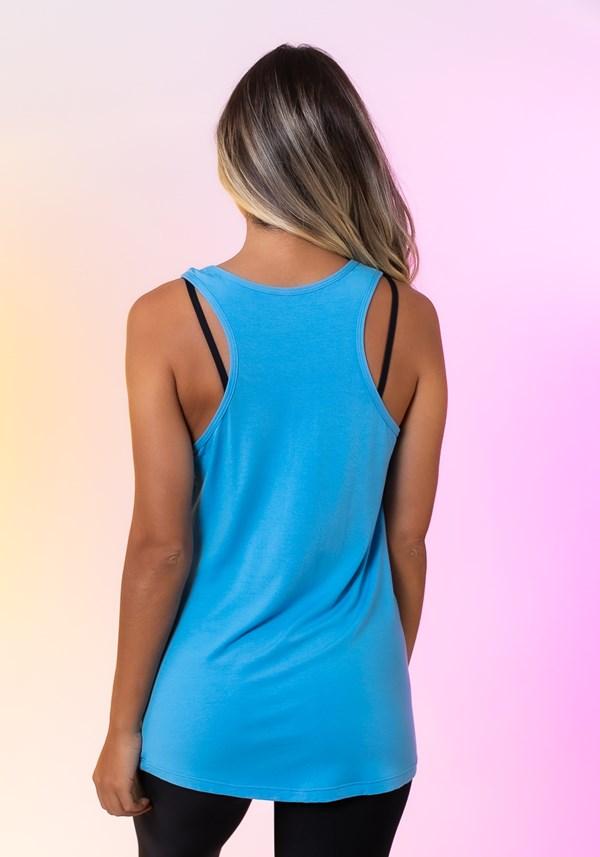 Regata happiness com silk be a nice human azul